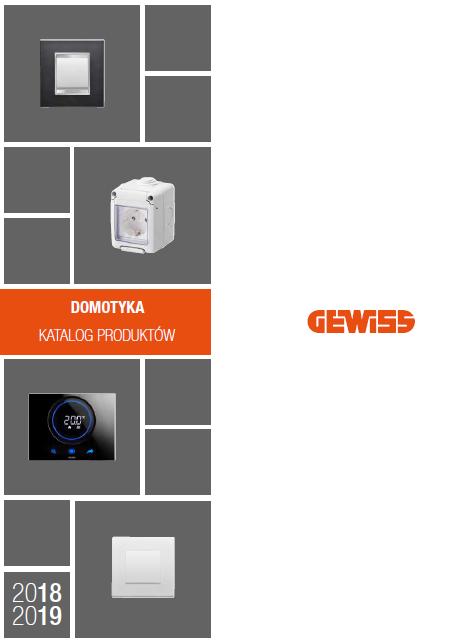 Katalog Gewiss                                         DOMOTYKA 2019