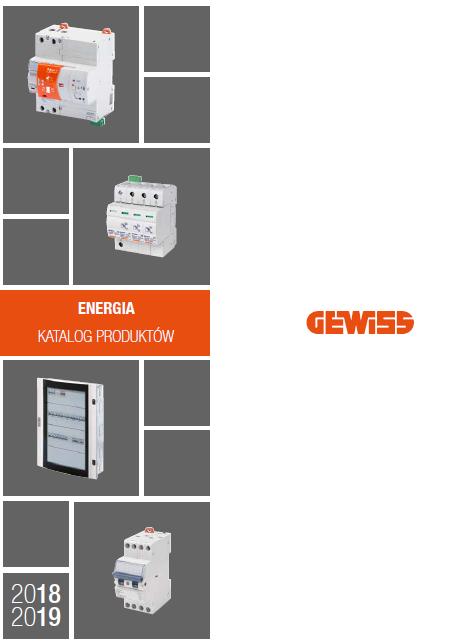 Katalog Gewiss                                       ENERGIA 2019